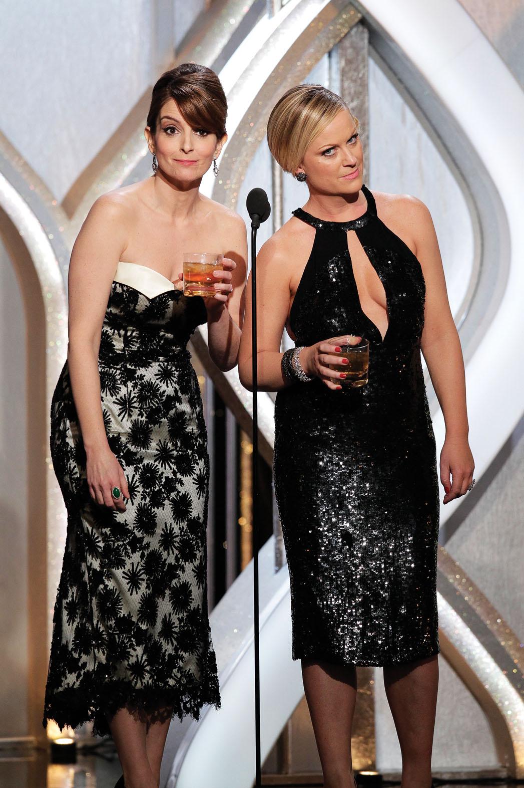 Fey Poehler Golden Globes - P 2013