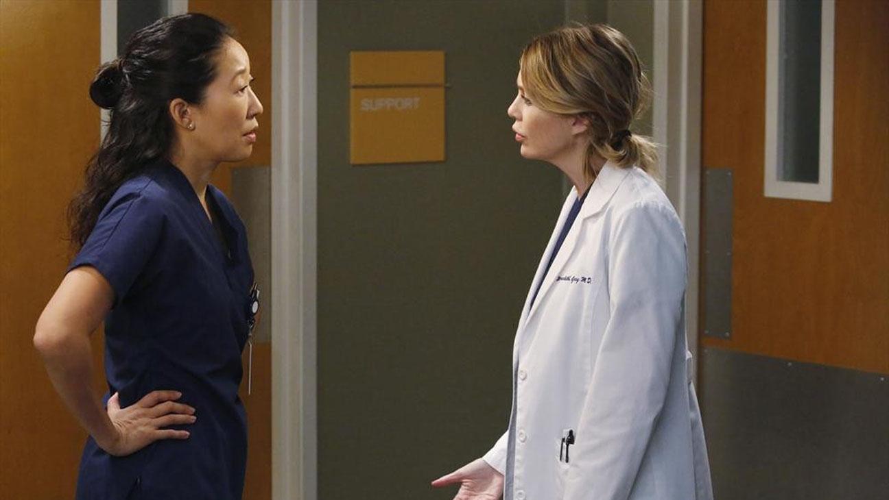 Grey's Anatomy Sandra Oh Ellen Pompeo - H 2013