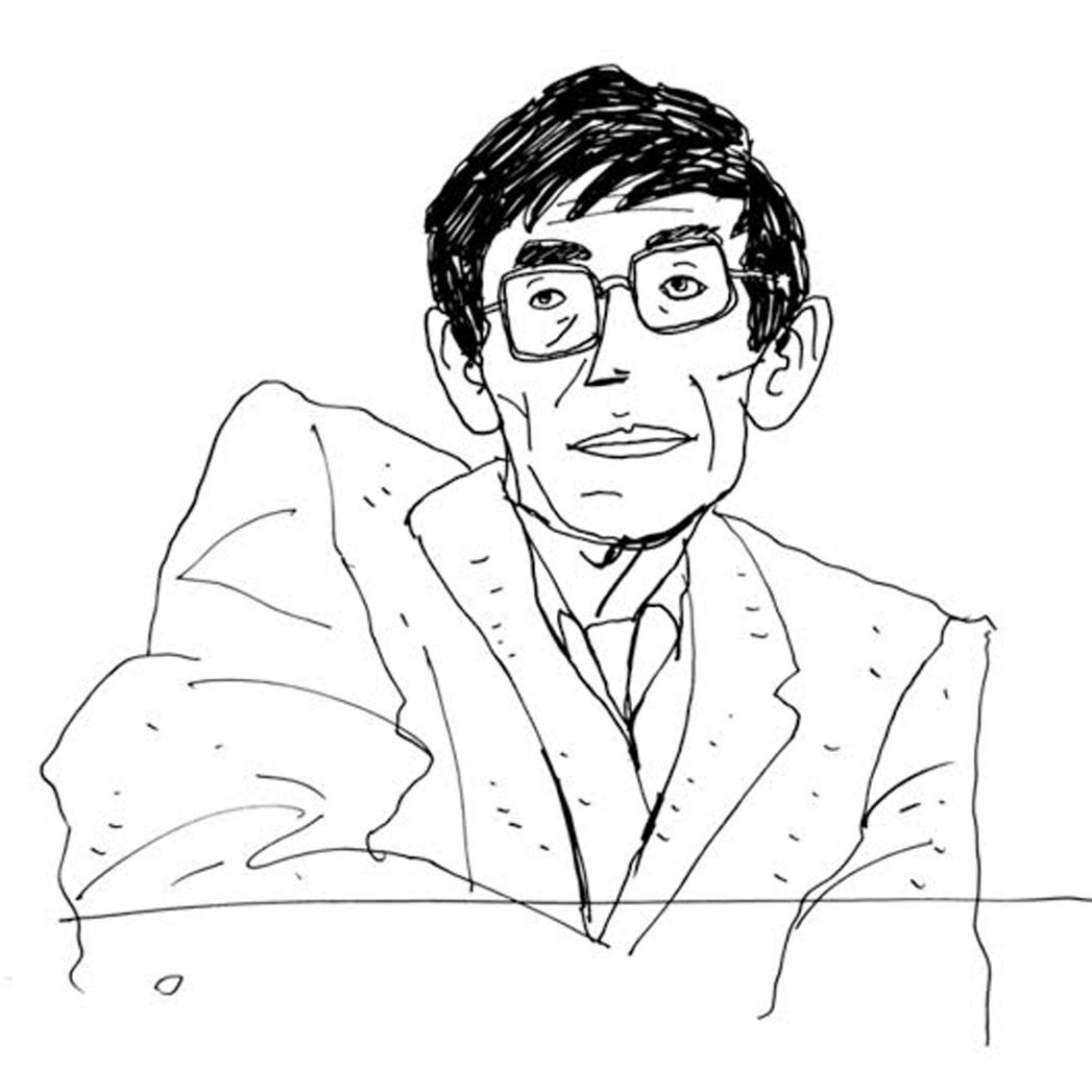 Hawking Sketch - S 2013