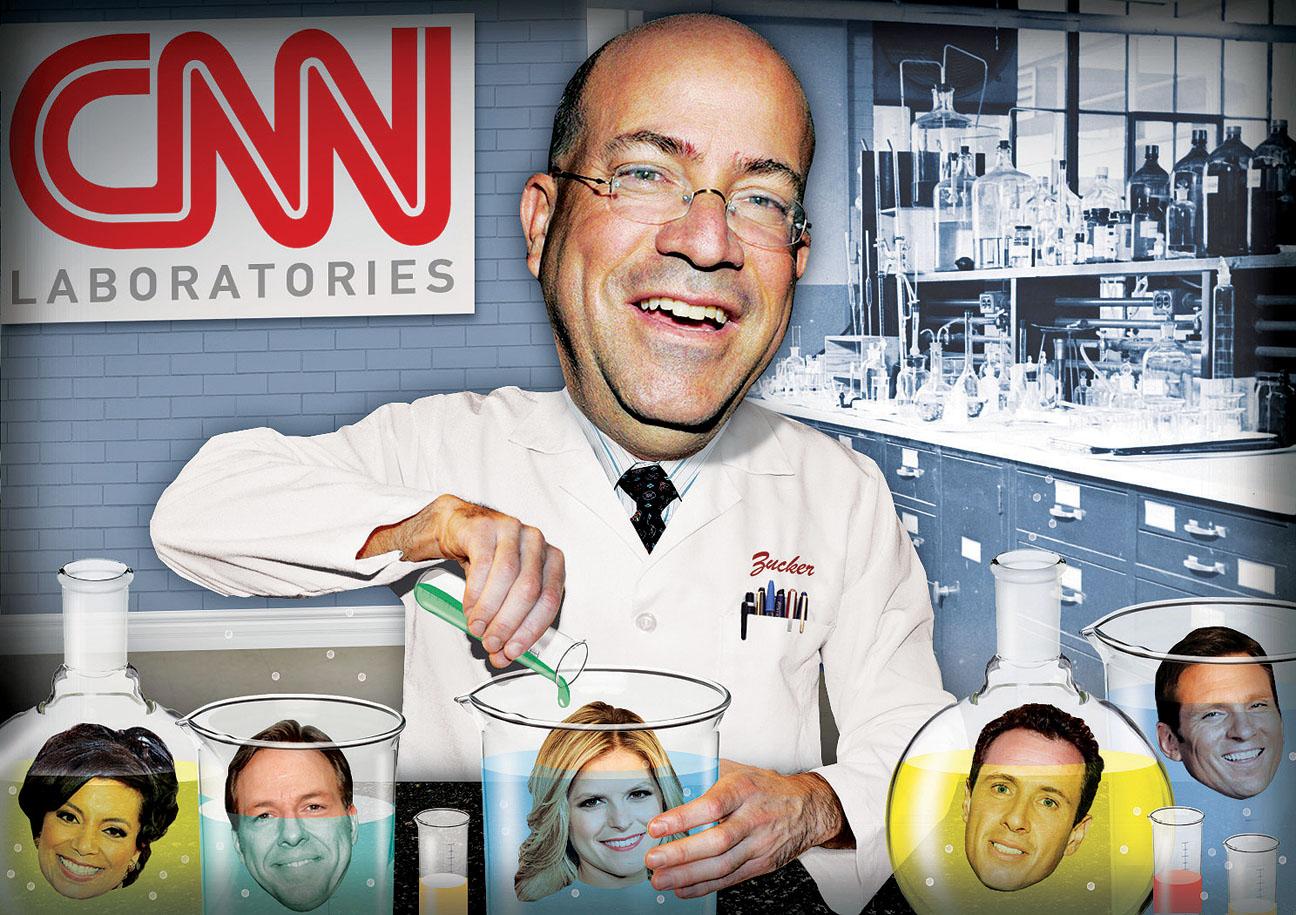 Jeff Zucker CNN Illustration - H 2013