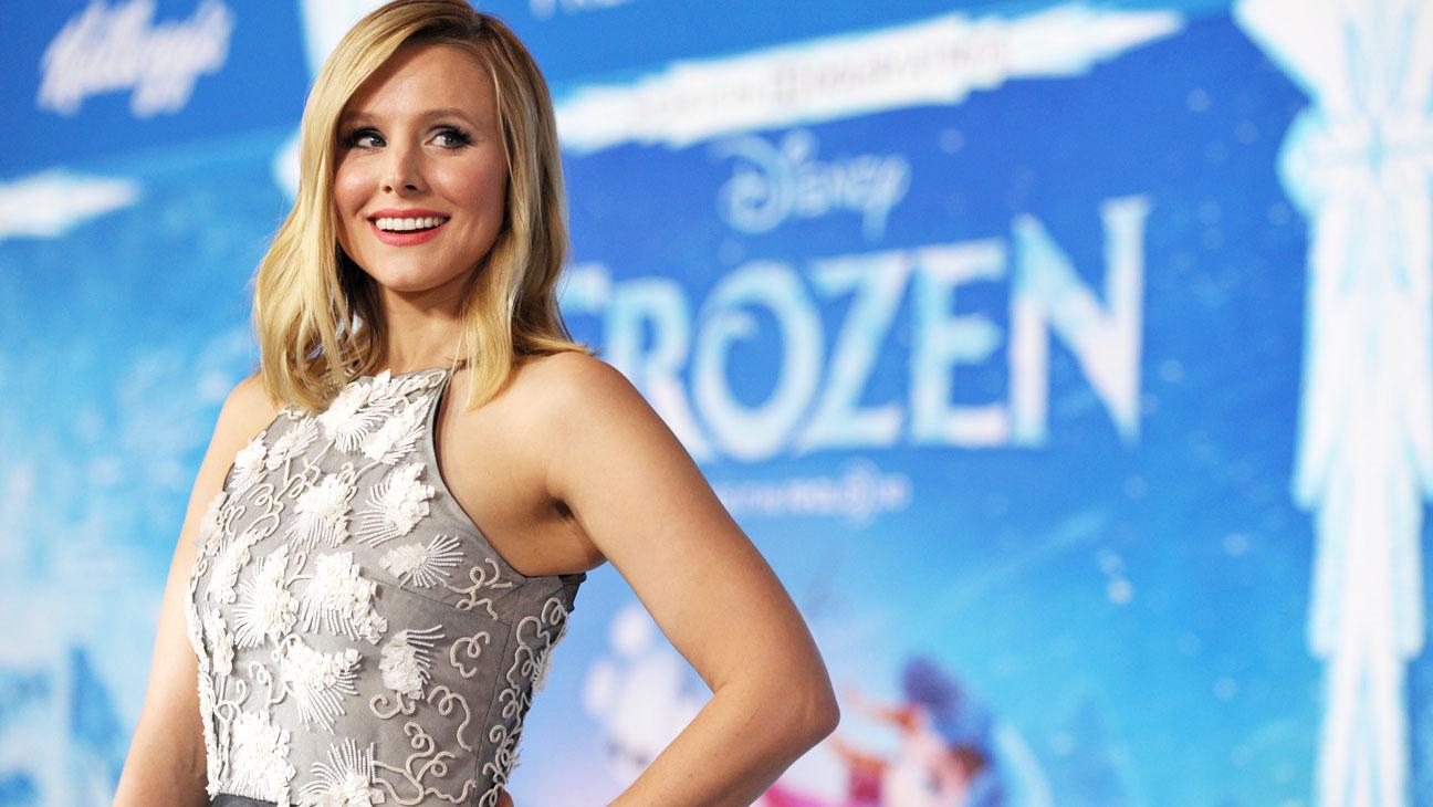 Kristen Bell Frozen Premiere - H 2013