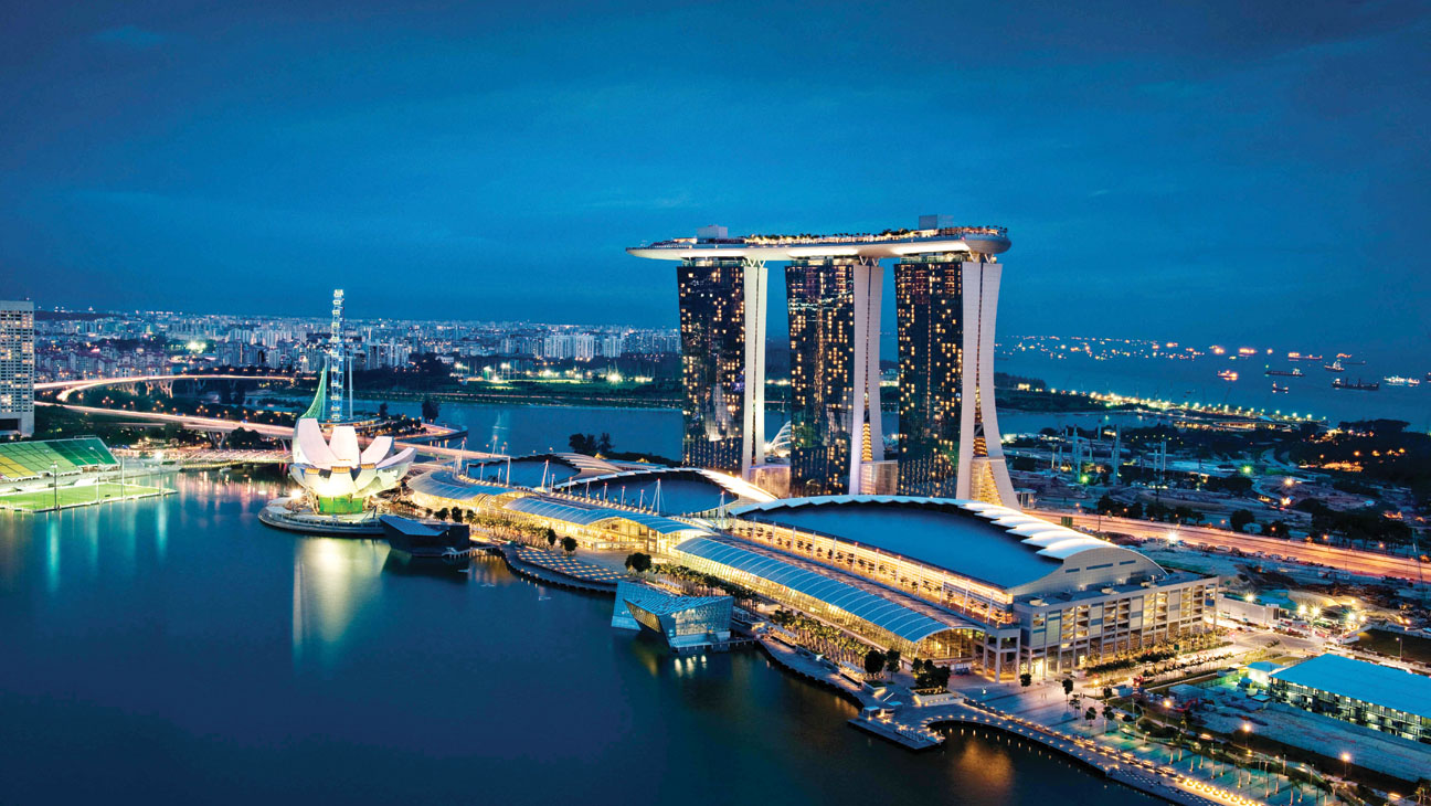 Marina Bay Sands Singapore - H 2013