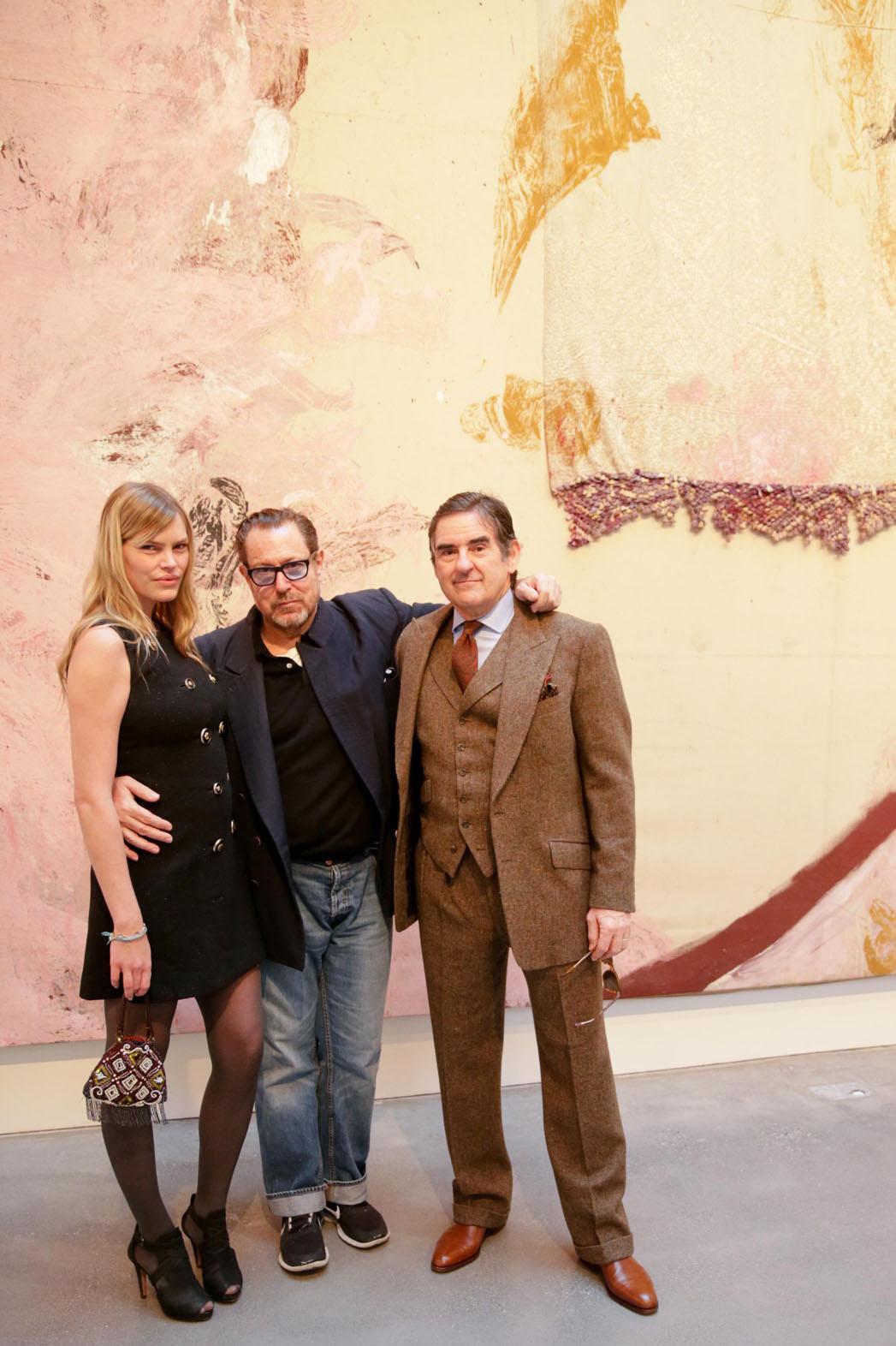 Julian Schnabel Exhibition Opening - P 2013