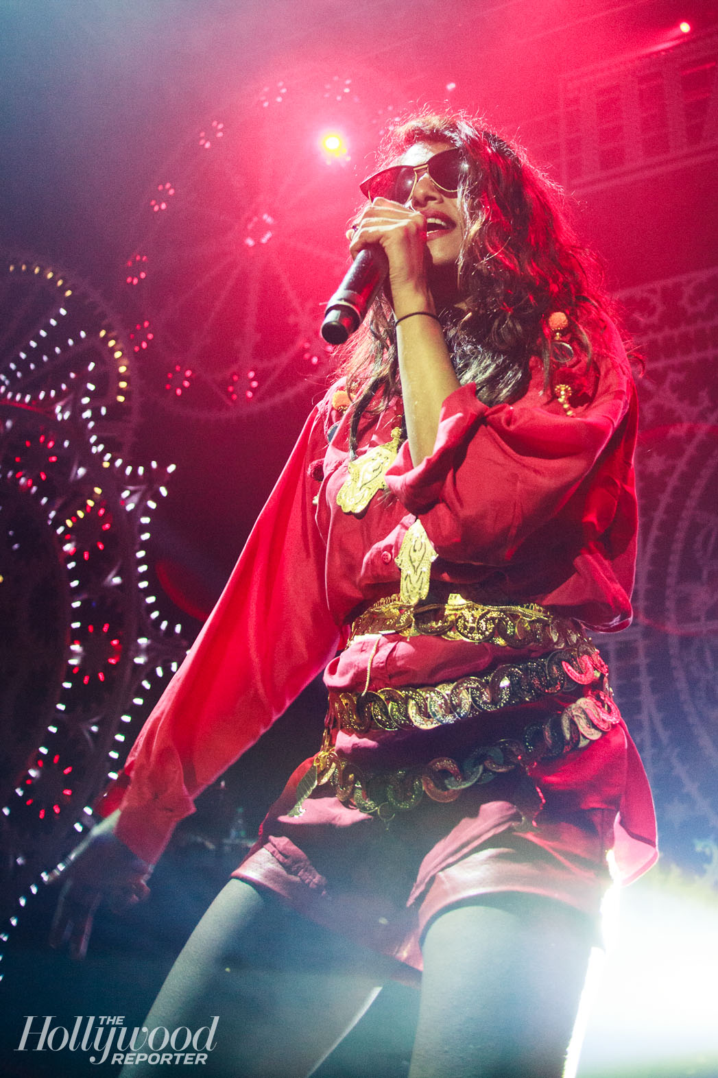 M.I.A Performing at The Belasco - P 2013