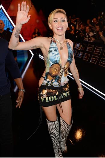 Miley Cyrus EMAs 2013 P