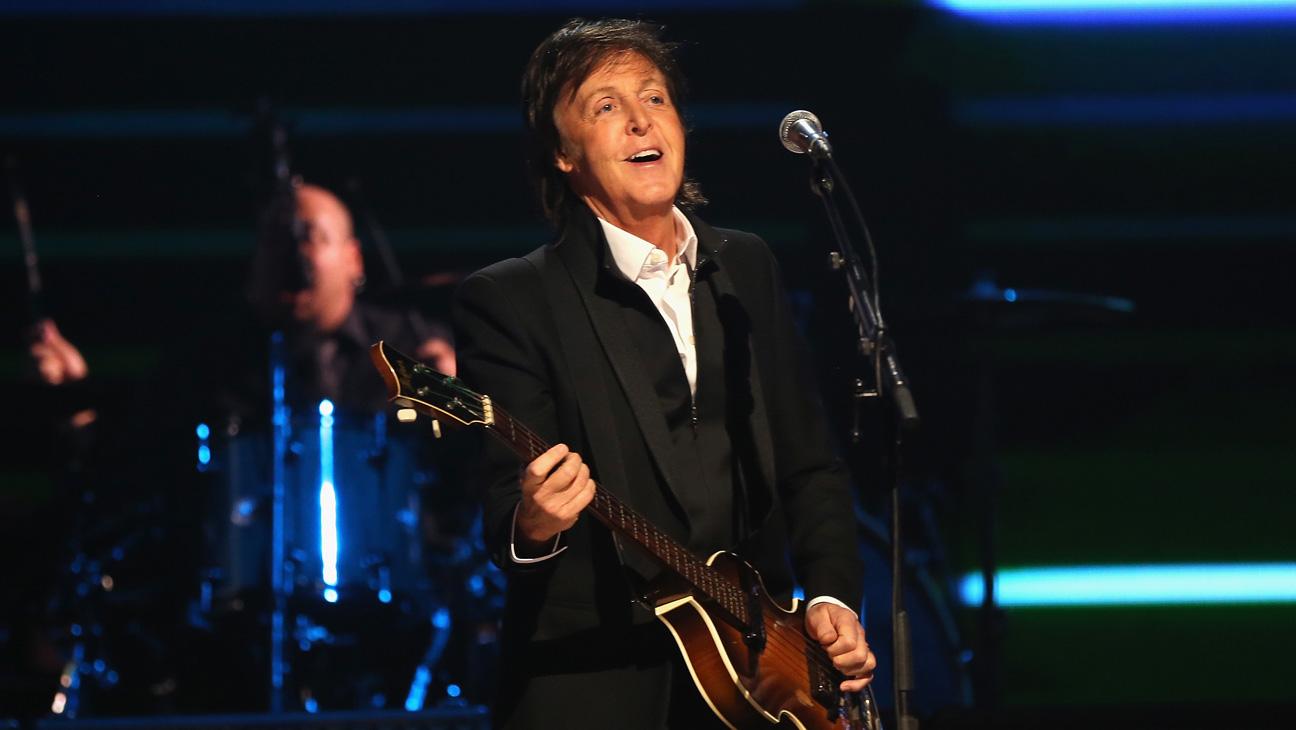 Paul McCartney Performing iHeartRadio - H 2013