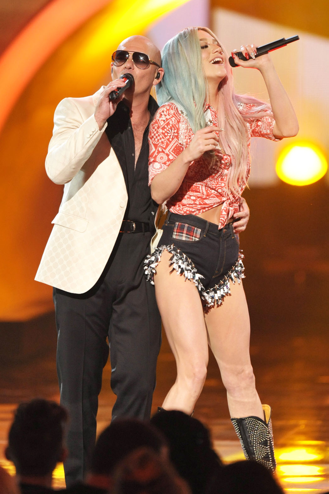 Pitbull Ke$ha Performing at AMA - P 2013