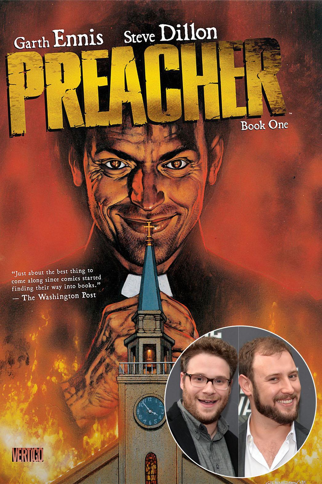 Preacher Cover Seth Rogen Evan Goldberg Inste - P 2013