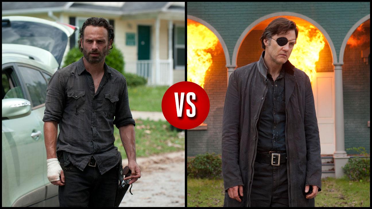 Rick Grimes vs. The Governor Season 6 - H 2013