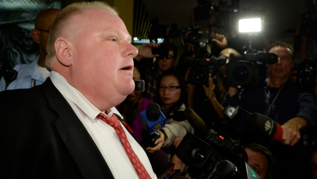 Rob Ford - H - 2013