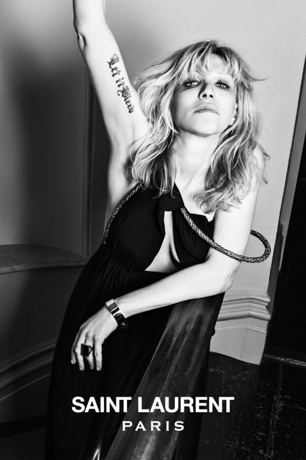 Saint Laurent Courtney Love - P 2013
