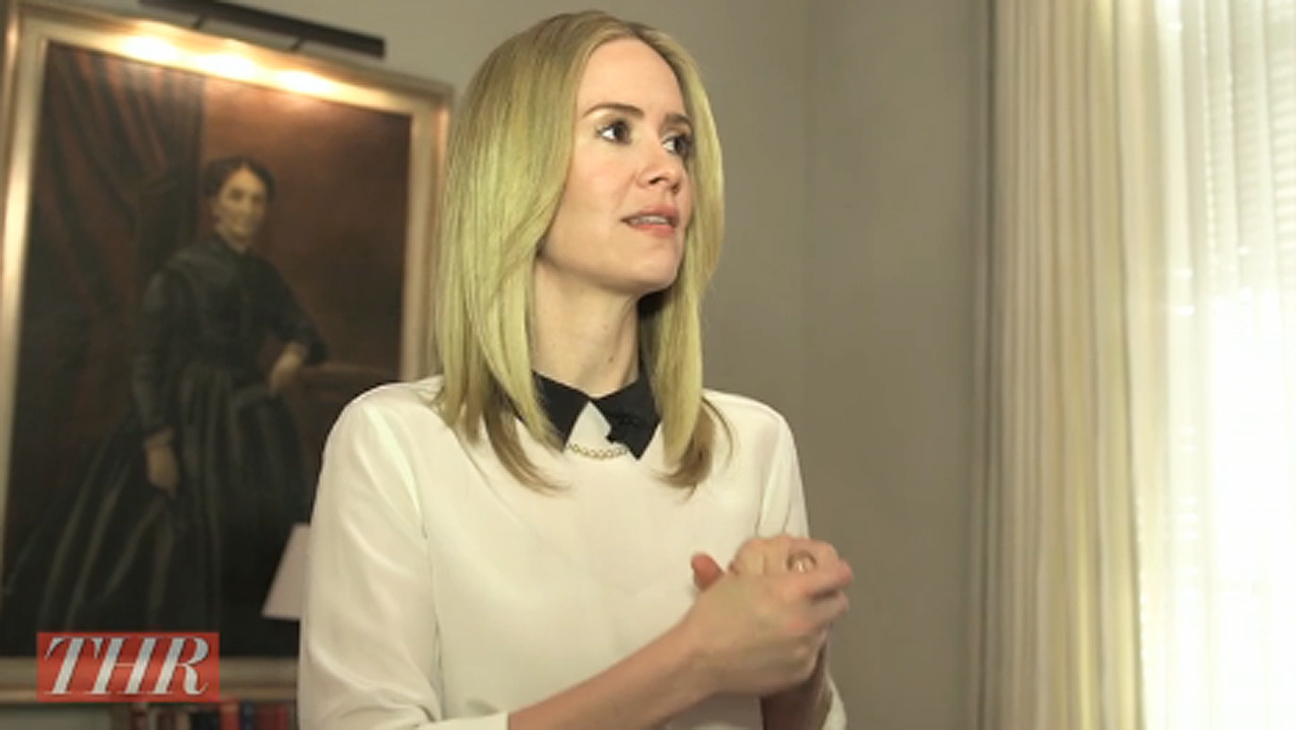 Sarah Paulson Goes Behind the Scenes at 'American Horror Story: Coven' | Hot Set!