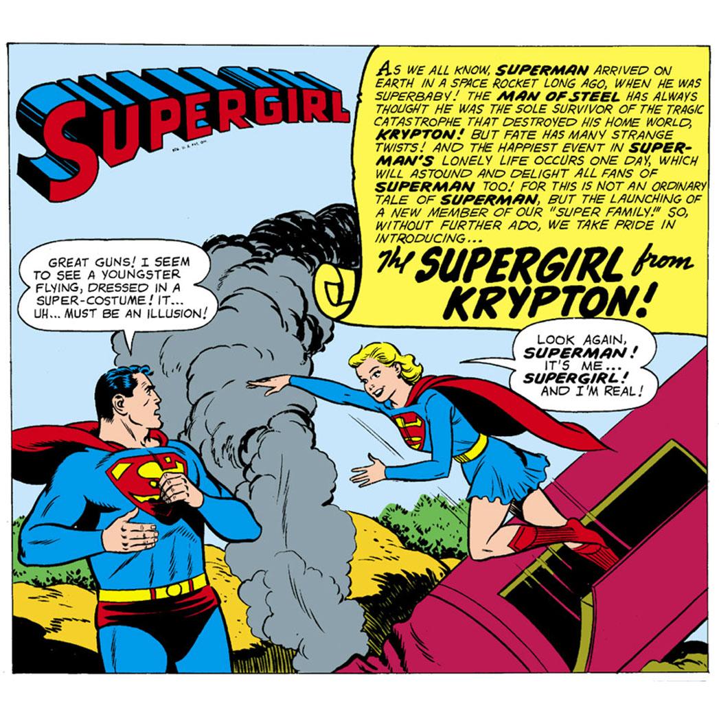 Supergirl Debut Plastino - S 2013