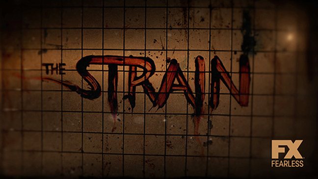 The Strain Key Art Low Res - H 2013