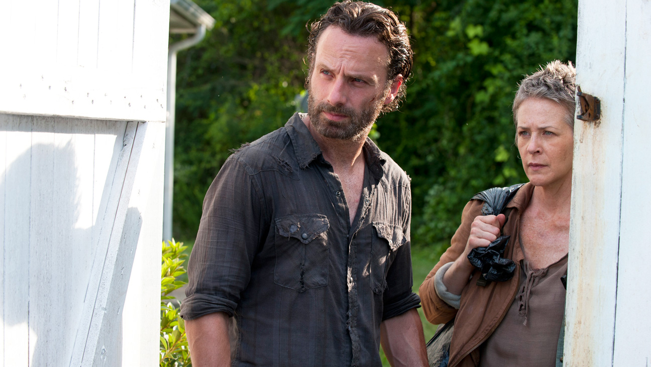 The Walking Dead S4 EP 4 Melissa McBride Andrew Lincoln - H 2013