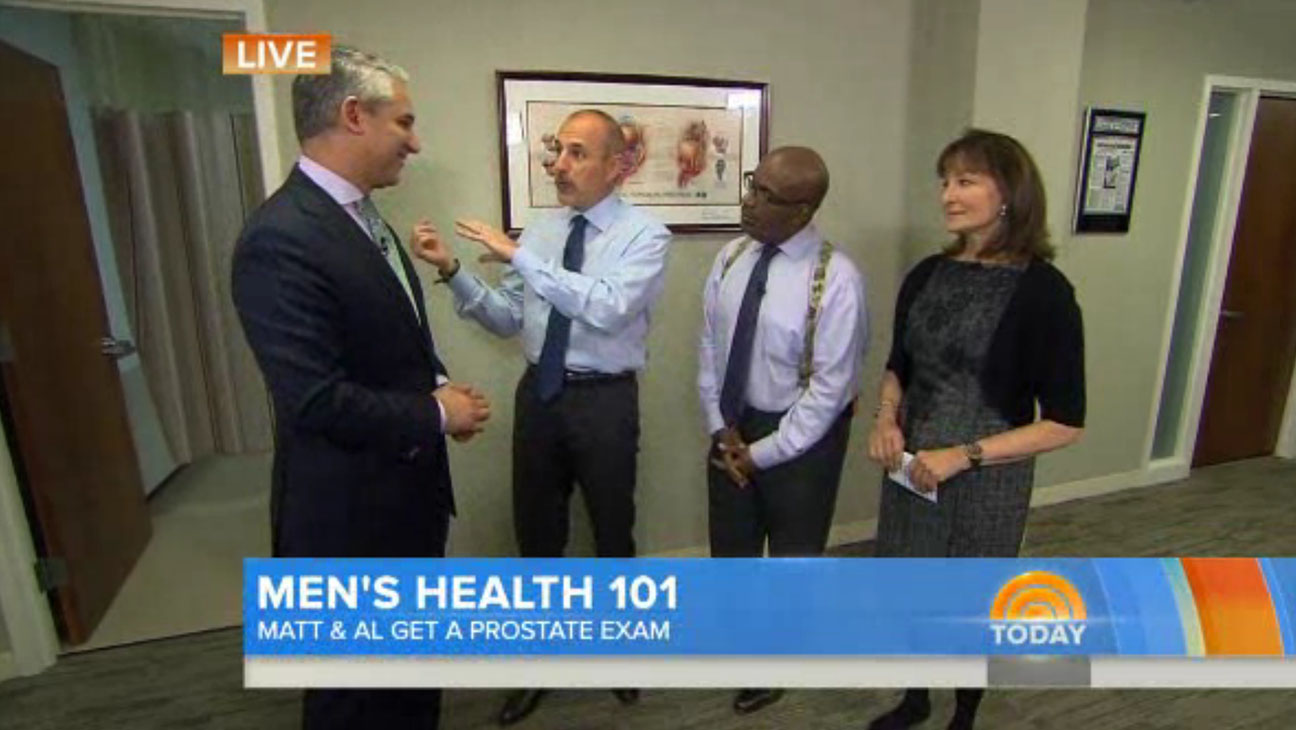 Today Prostate Exam Matt Lauer - H 2013