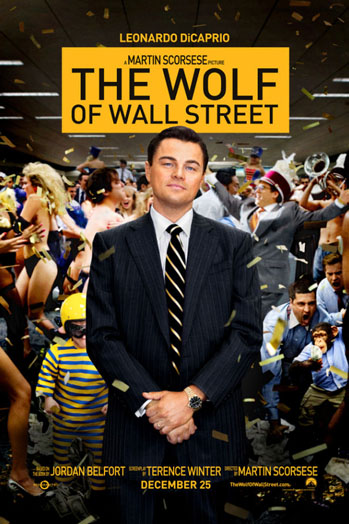The Wolf of Wall Street poster - P 2013