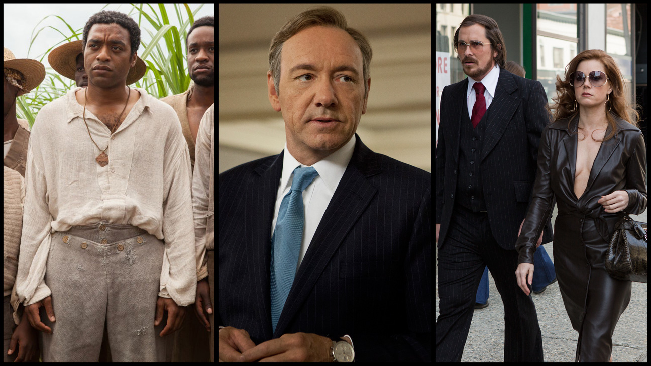 12 Years a Slave House of Cards American Hustle Split - H 2013