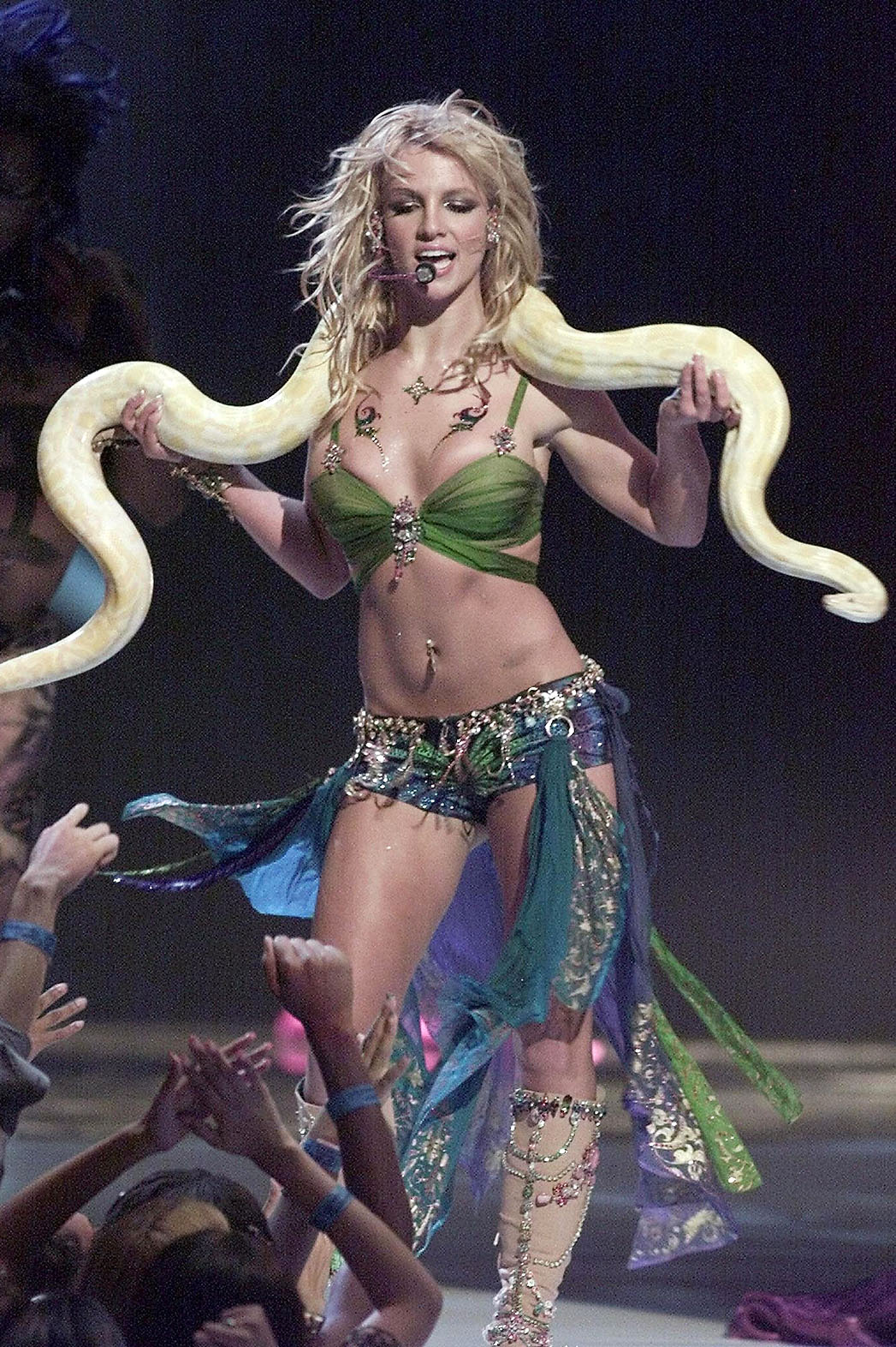 Britney Spears A Look Back At The Pop Princess Best Costumes Hollywood Reporter