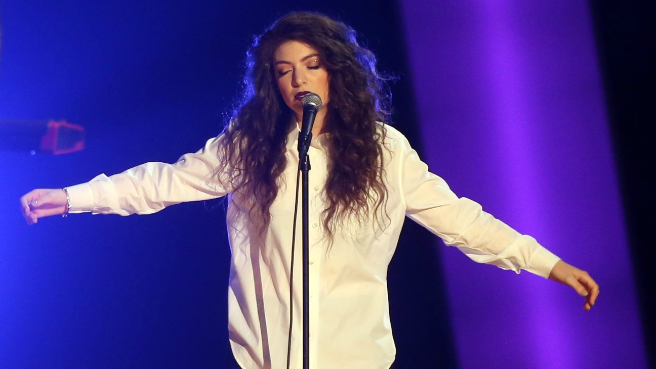 Lorde Grammy Nominations - H 2013