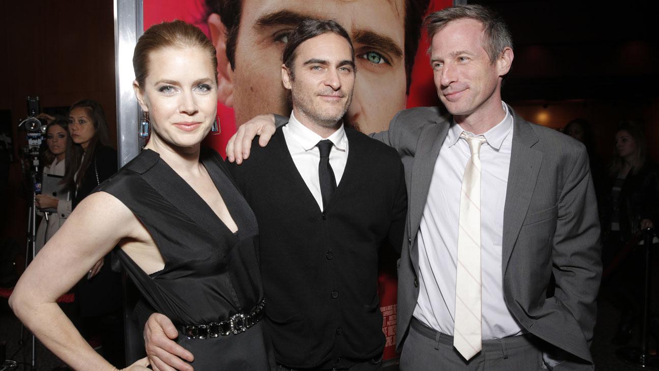 Amy Adams, Joaquin Phoenix and Director/Writer Spike Jonze