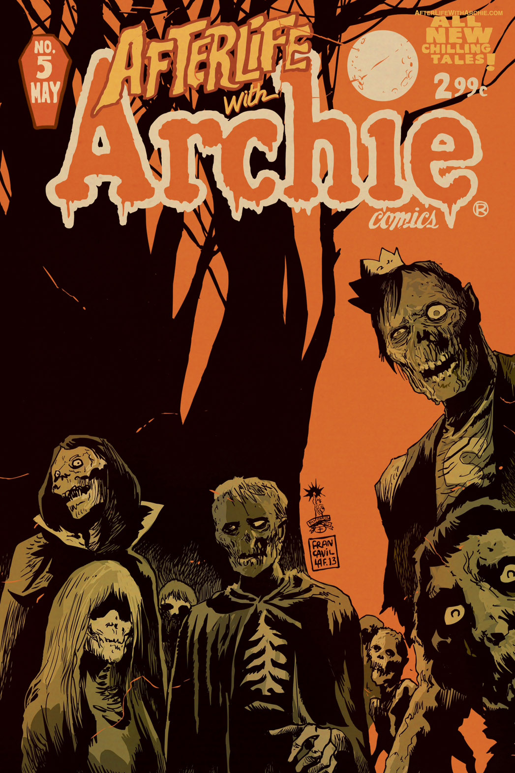 Archie Afterlife Cover - P 2013