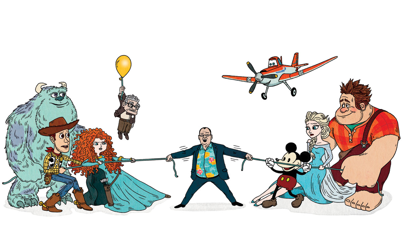 Disney Vs. Pixar - H 2013