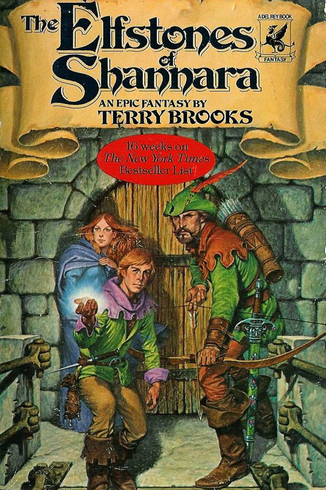 The Elfstones of Shannara Book Cover - P 2013