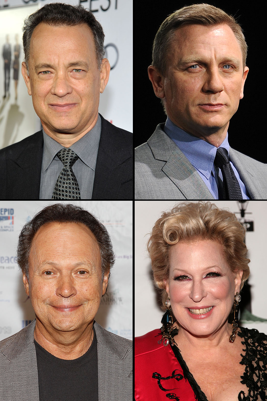 Tom Hanks Daniel Craig Bette Midler Billy Crystal - P 2013