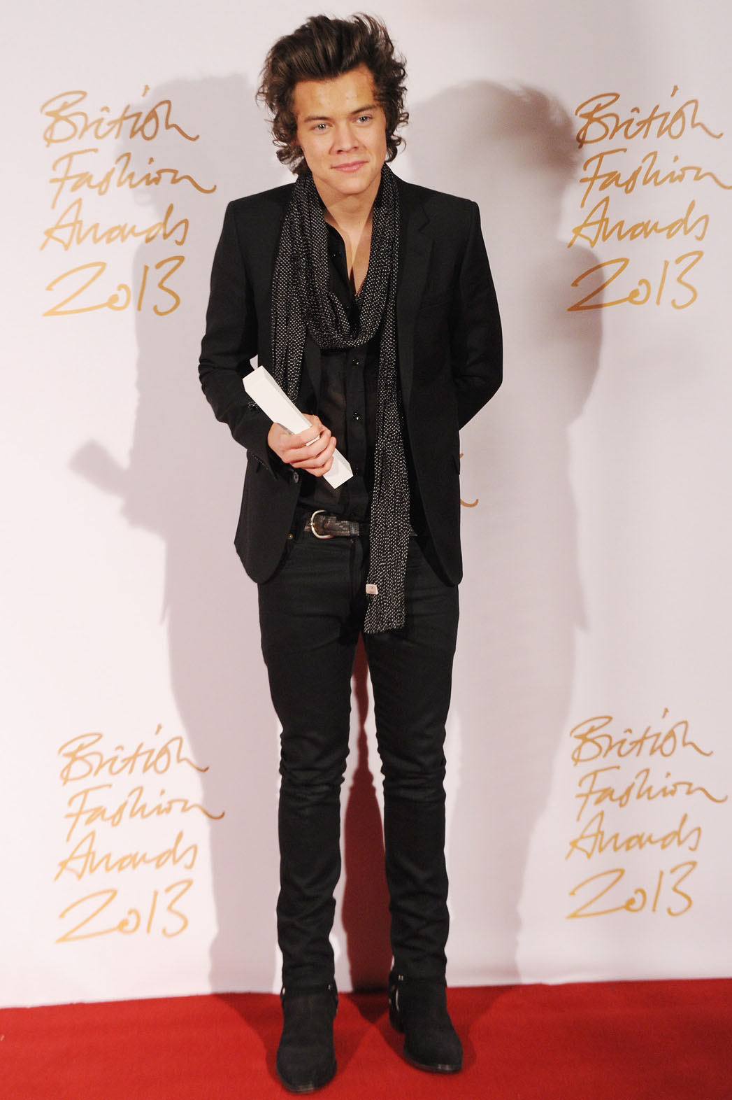 Harry Styles British Fashion Awards - P 2013