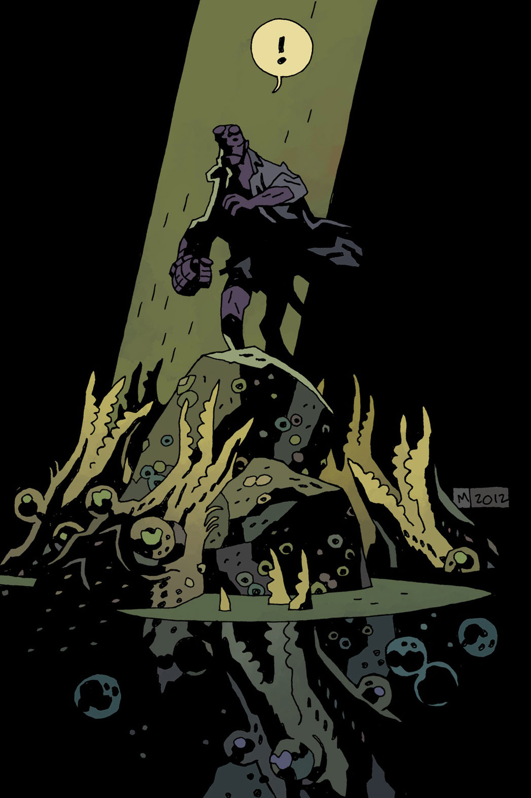 Hellboy in Hell Cover 1 - P 2013