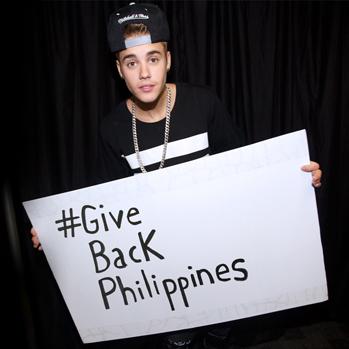 Justin Bieber phillipines P