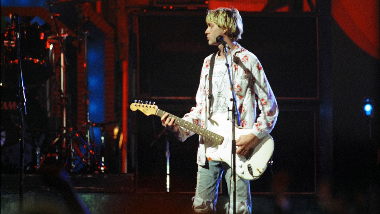 Kurt Cobain of Nirvana Performing - H 2013