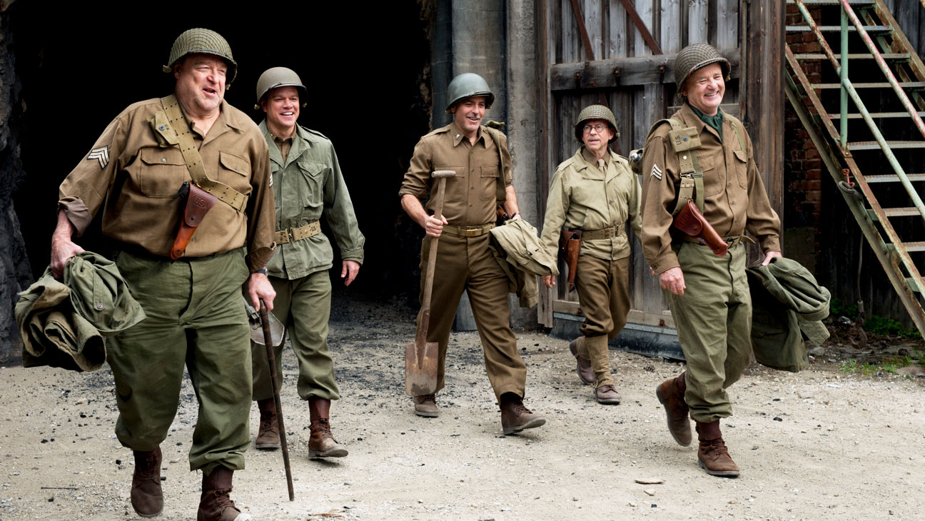 Monuments Men Still Group - H 2013