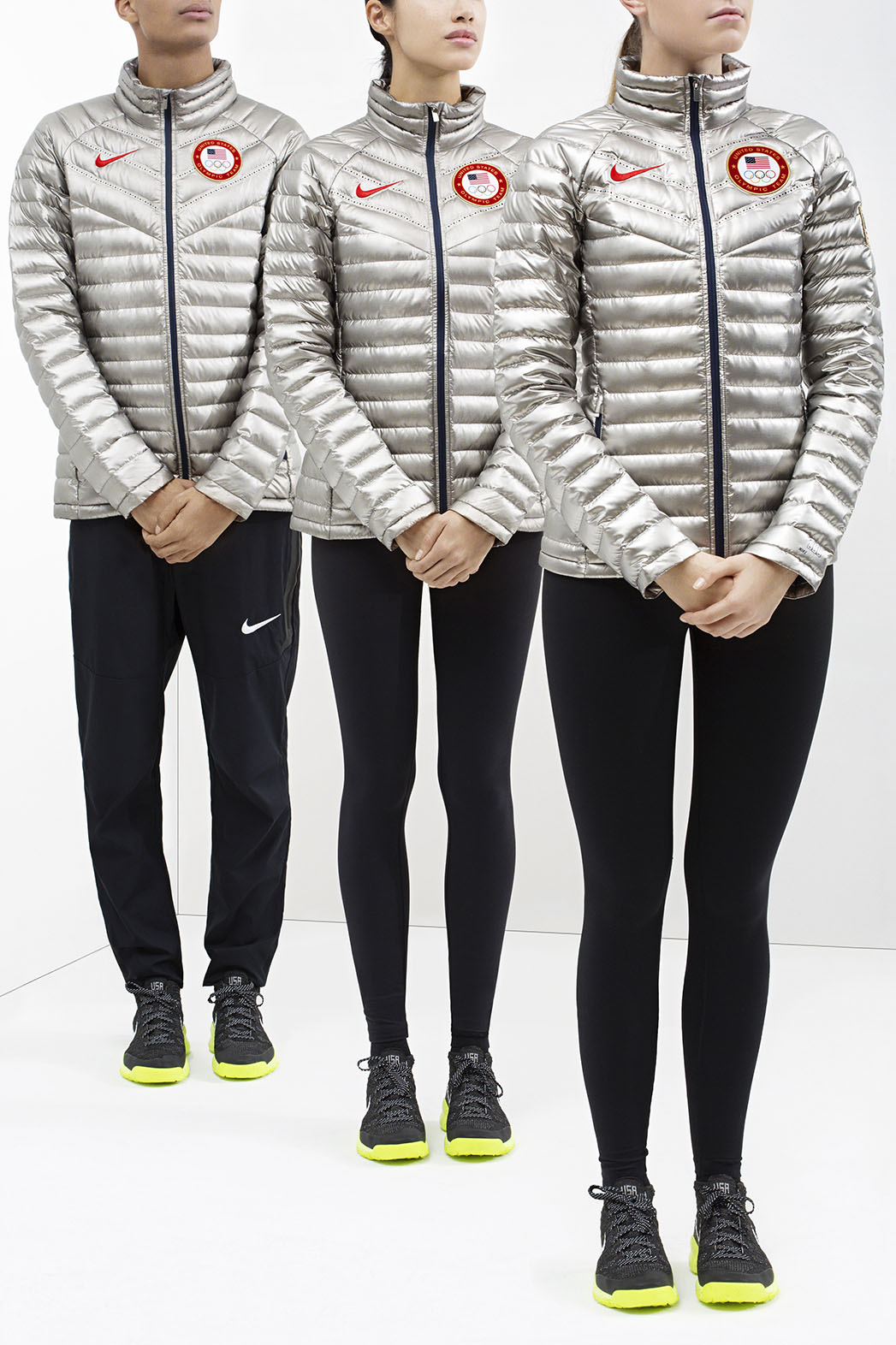 Cayo explorar apagado  Nike Outfits U.S. Athletes in Slick Silver and Fleece for 2014 Sochi  Olympics | Hollywood Reporter