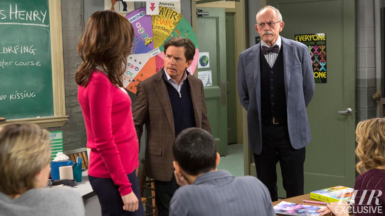 The Michael J. Fox Show Christopher Lloyd EXCLUSIVE - H 2013