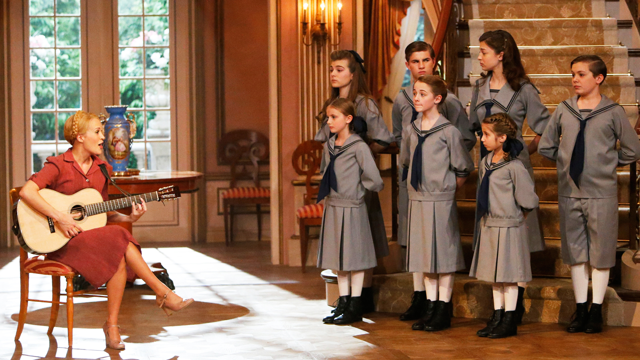 The Sound of Music Live! Underwood with Kids - H 2013