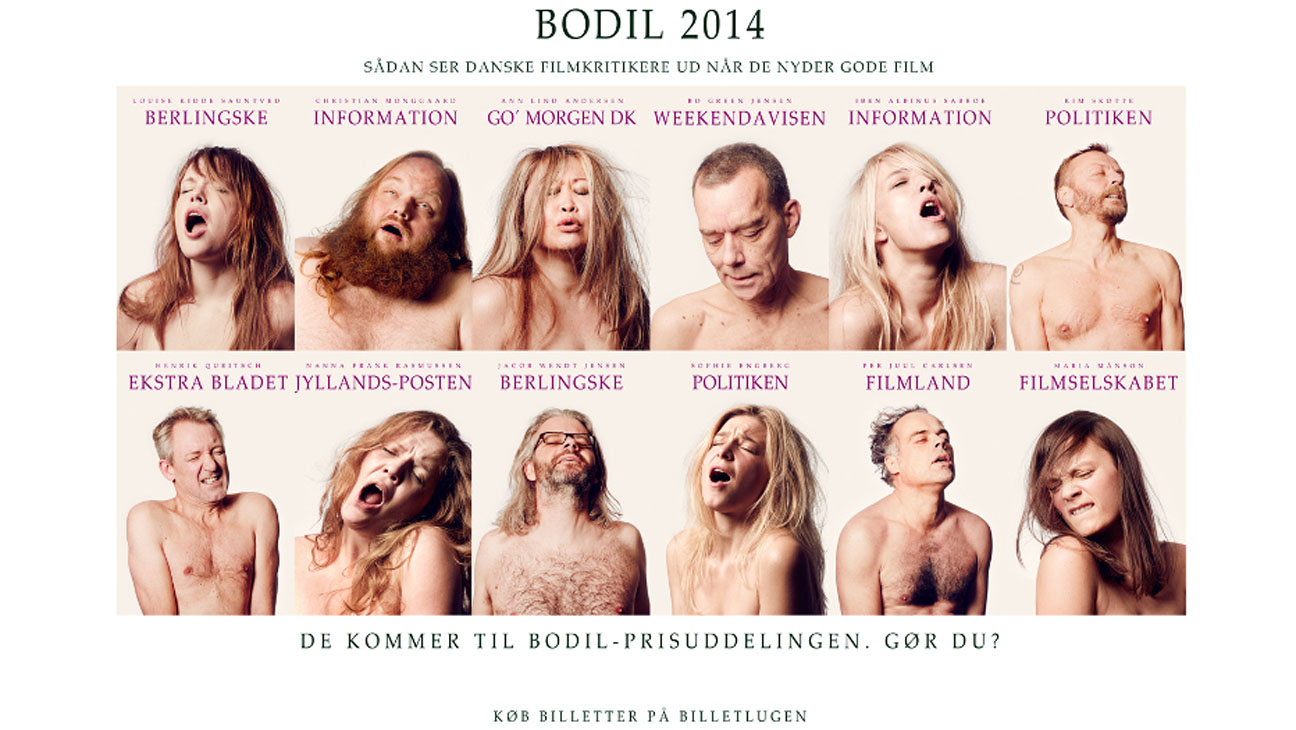 Danish Critics Nymphomaniac Collage - H 2013
