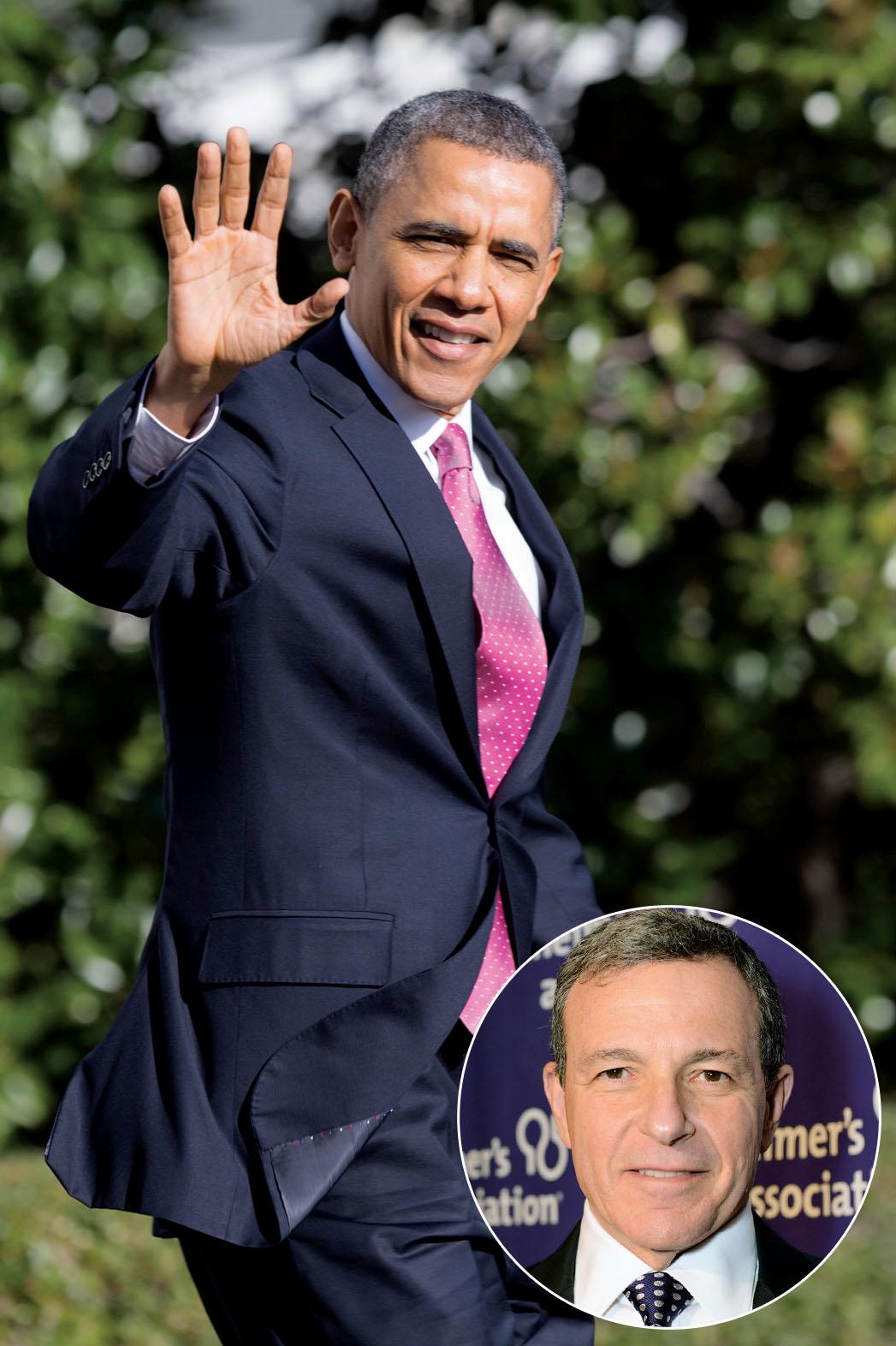 Obama Bob Iger - P 2013