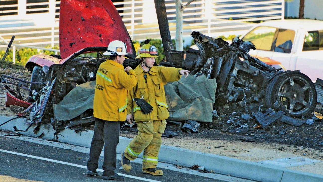 Paul Walker Car Crash - H - 2013