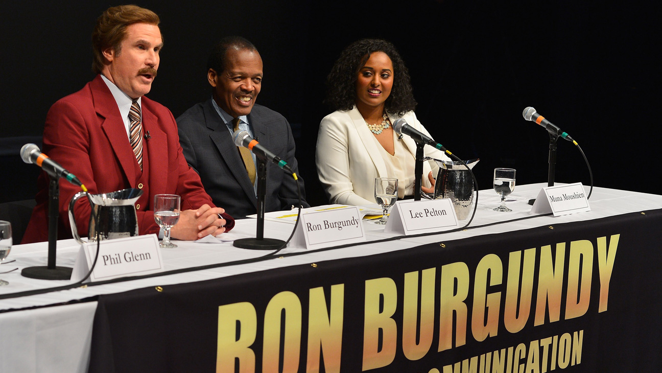 Will Ferrell Ron Burgundy Emerson - H 2013