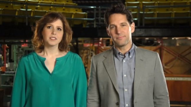 Vanessa Bayer Paul Rudd SNL Promo - H 2013