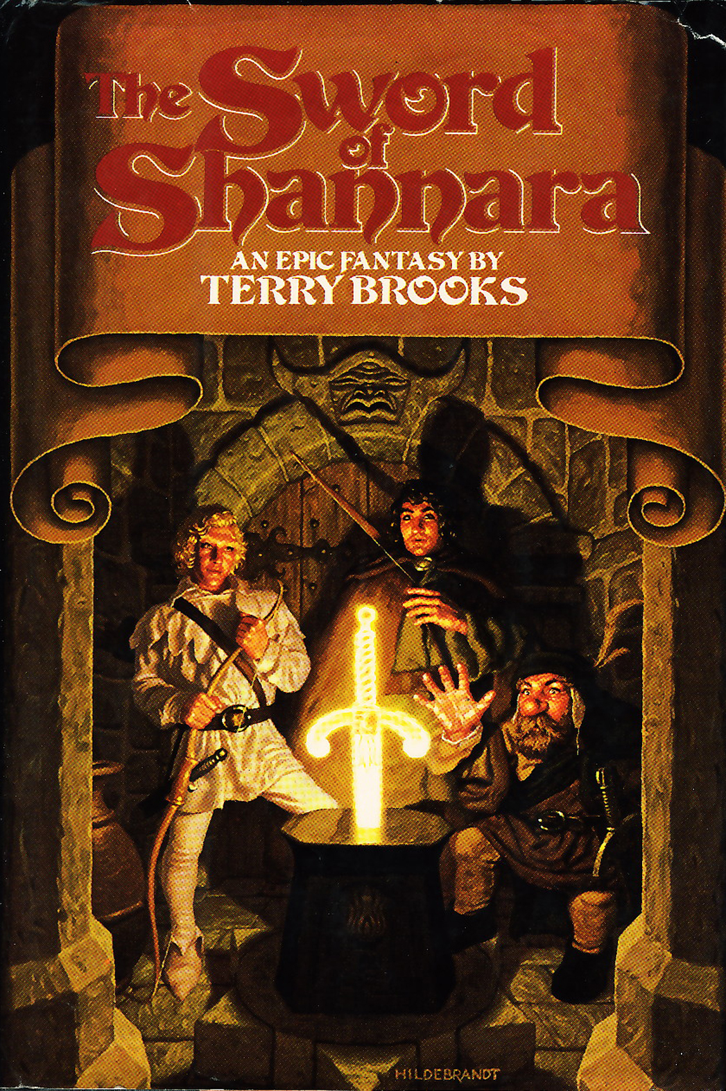 Sword of Shannara cover - P 2013