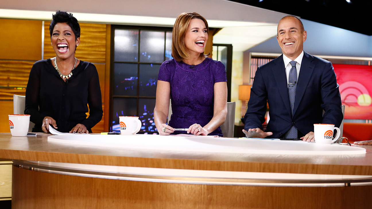 Today Show Matt Lauer Tamron Hall - H 2013
