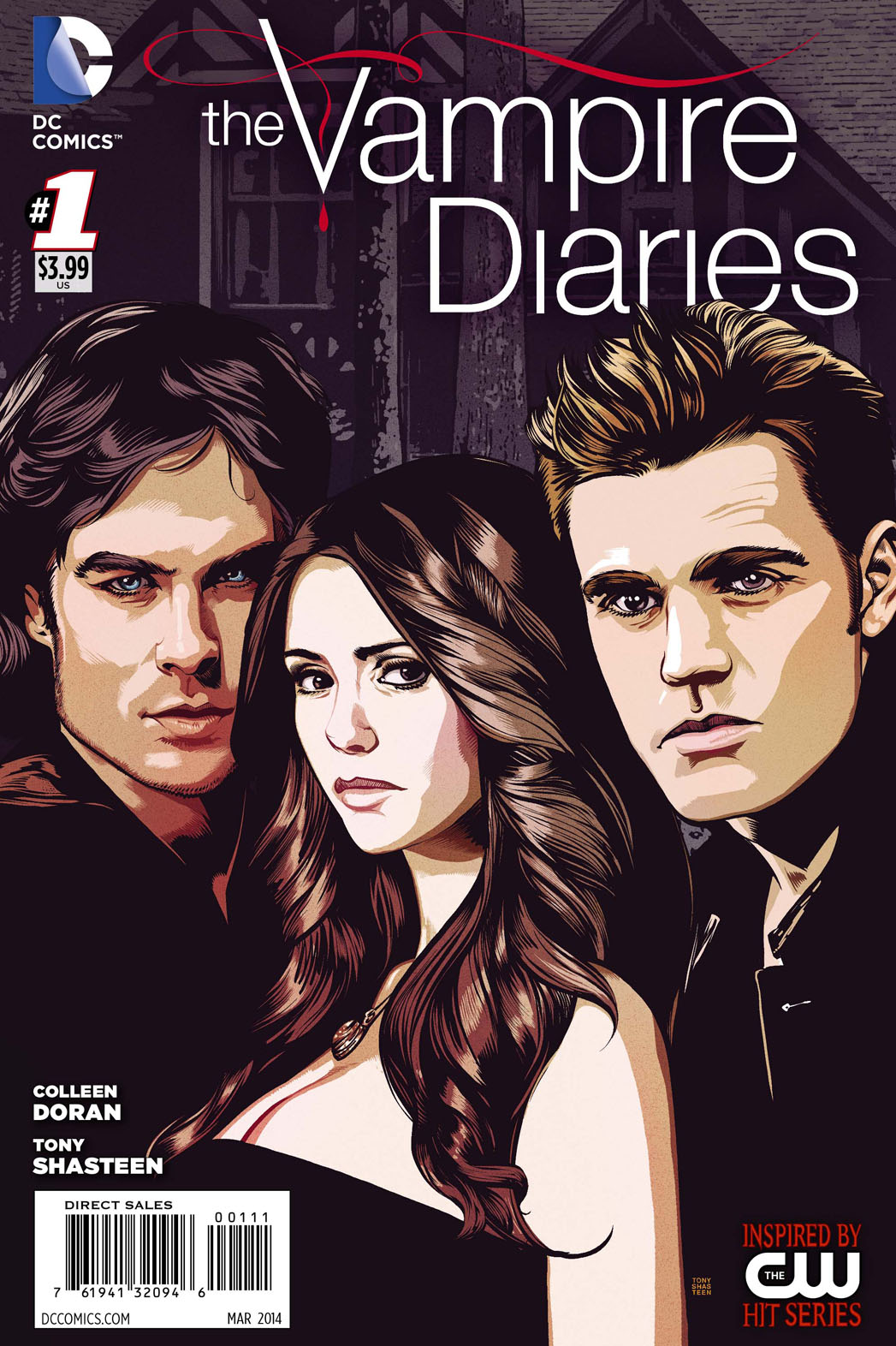 The Vampire Diaries Comic Cover - P 2013