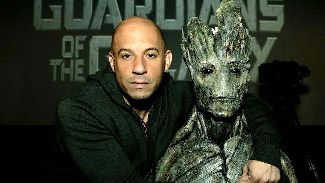 Vin Diesel Groot - H 2013