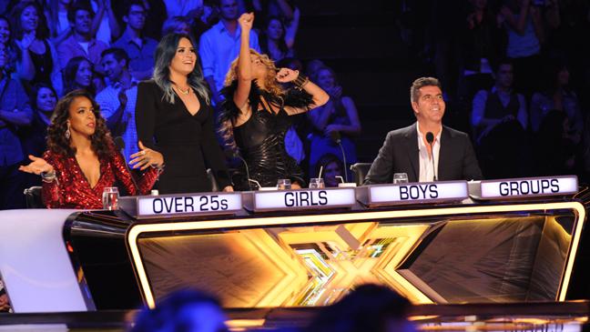 X Factor season 3 judges L