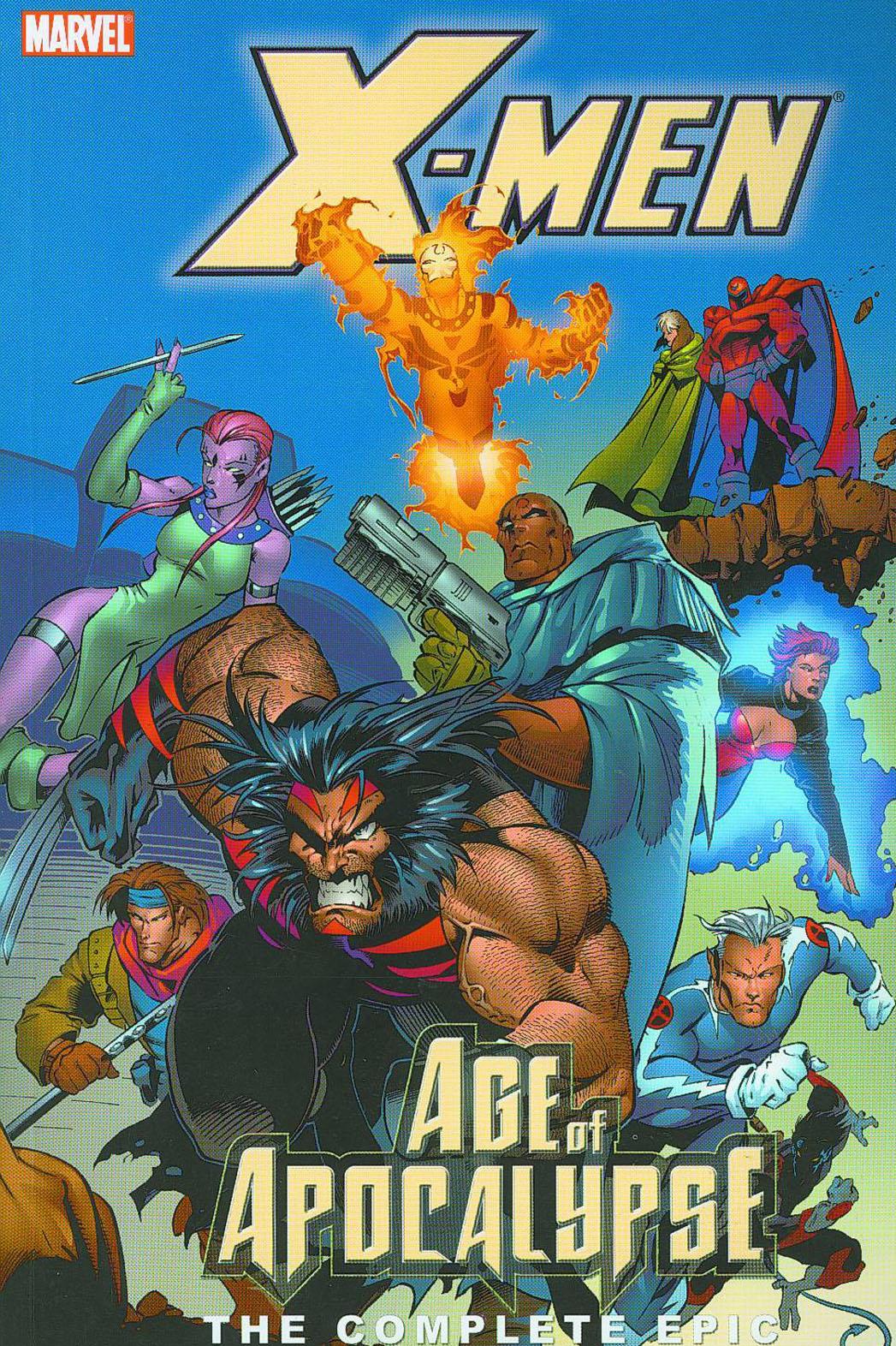 X-Men Age of Apocalypse Cover - P 2013