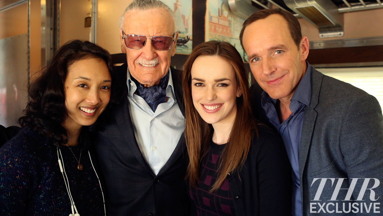 AGENTS OF S.H.I.E.L.D. Stan Lee EXCLUSIVE - H 2014