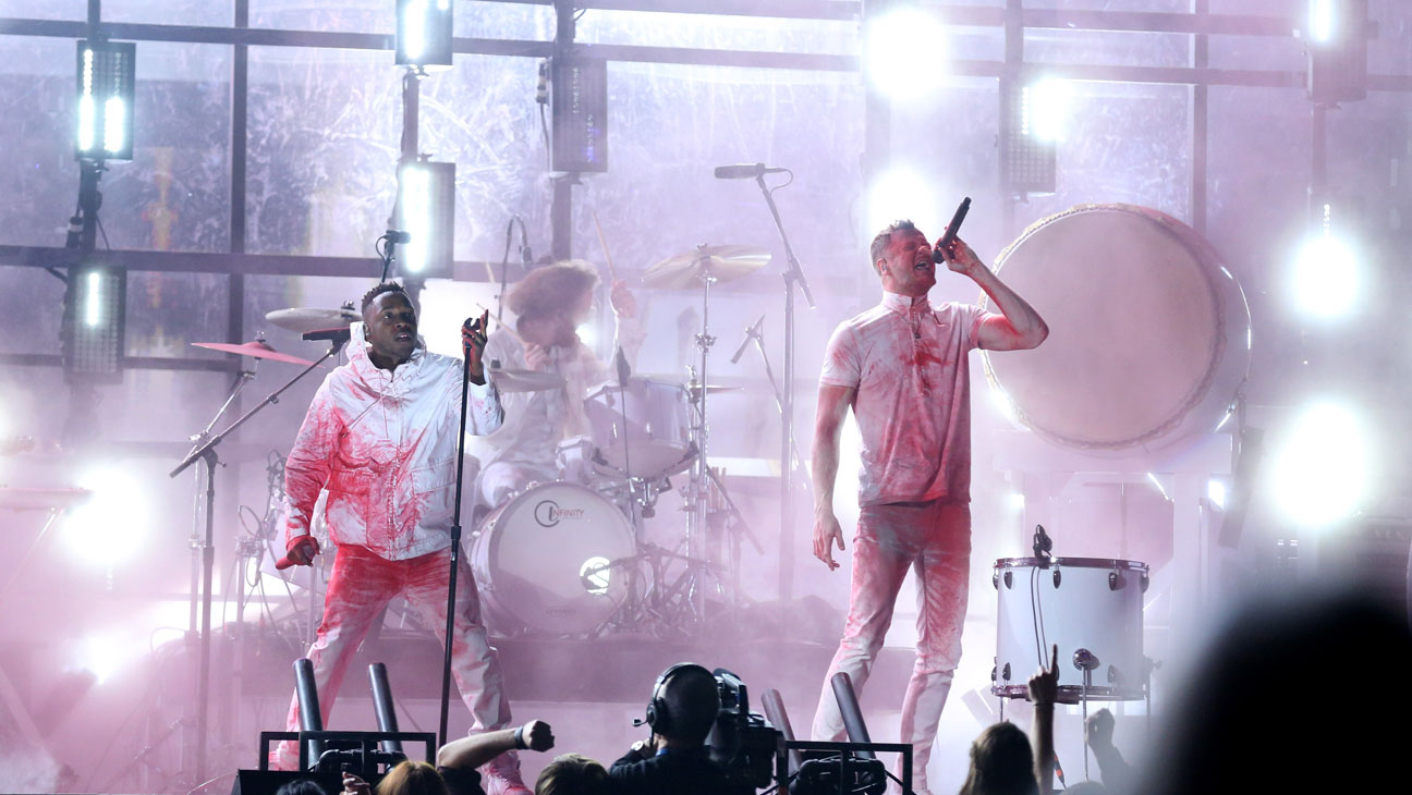 Kendrick Lamar and Imagine Dragons